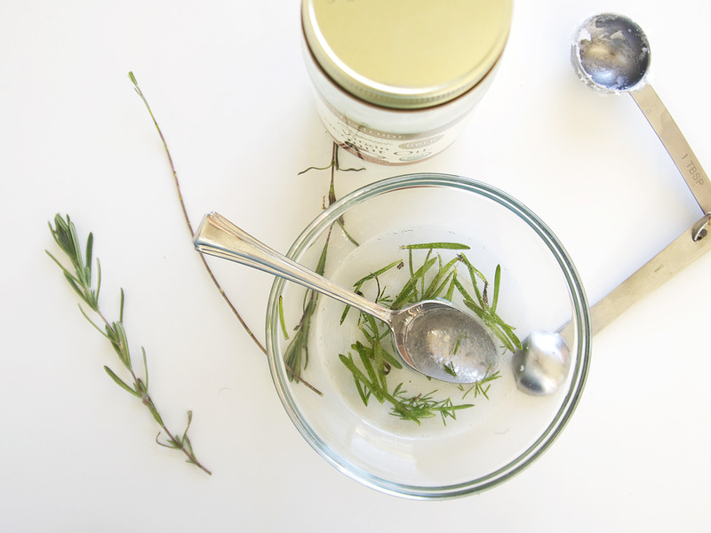Lavender-Infused Coconut Oil Hair Treatment