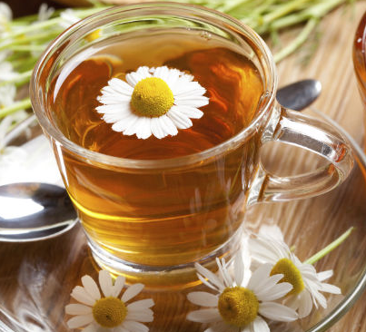 Chamomile Tea Rinse for Blonde Hair