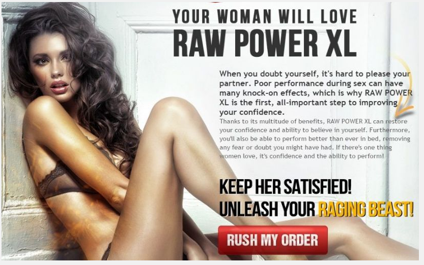 Satisfy your Spouse in Bed with Raw Power XL